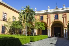 Real Alcazar  Reales Stock Images