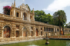 Real Alcazar, Sevilla Stock Photo