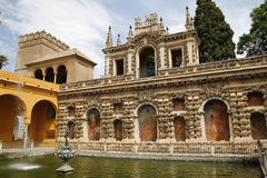 Real Alcazar, Sevilla Stock Images