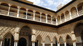 Real Alcazar, Sevilla Stock Photos