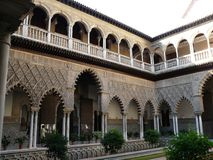 Real Alcazar in Seville Stock Photo