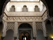Real Alcazar in Seville Stock Photography