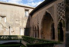 Real Alcazar of Seville Royalty Free Stock Photos