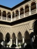 The Real Alcazar in Seville, Spain Royalty Free Stock Images