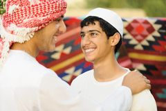 Real authentic arabic people Stock Photos