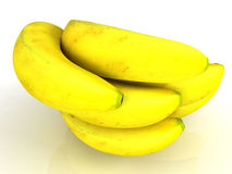 Real bananas Royalty Free Stock Photography
