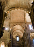 Real Basilica de San Isidoro in Leon. Spain Royalty Free Stock Images