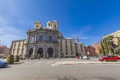 Real Basílica de San Francisco el Grande in Madrid Stock Photography