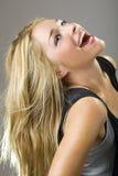 Real beatuiful girl smile Stock Photography