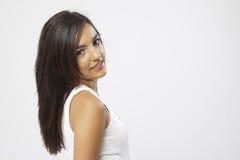 Real beautiful young girl Stock Image