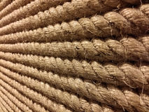 Real big rough and tough rope. Royalty Free Stock Photos