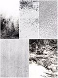 Real Black and White Textures Stock Photography
