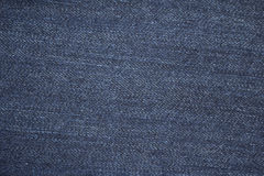 Real Blue denim jeans background texture Stock Images