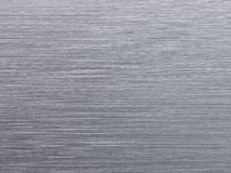 Real brushed aluminum texture Stock Images