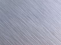 Real brushed metal texture. High resolution. Stock Photography