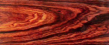 Real Burmese rosewood Exotic wood. Nature Burmese rosewood Exotic wood  For Picture Prints or background texture stock photo