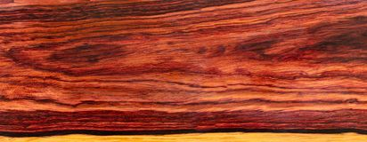 Real Burmese rosewood Exotic wood. Nature Burmese rosewood Exotic wood  For Picture Prints or background texture stock photos