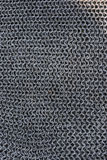 Real chainmail texture close up Royalty Free Stock Images