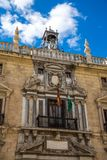 Real Chancellery of Granada, detail Stock Image