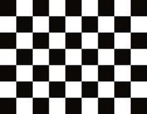 This is a real checkered, finishing flag. Of high quality Stock Image