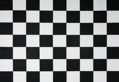 Real checkered flag Royalty Free Stock Images