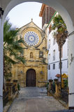 Real Church of St. Paul in Cordoba Spain Stock Photography