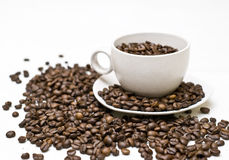 Real coffee Stock Photo