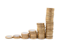 Real Coins Stock Photo