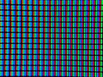Real computer pixels, zoom royalty free stock photo