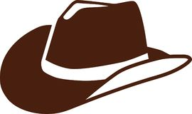 A real Cowboy hat. Vector stock illustration