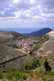 Real de catorce aerial. Aerial view of real de catorce, san luis potosi, mexico Stock Photo