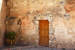 Real de catorce facade Royalty Free Stock Photos