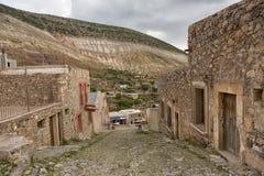 Real DE Catorce Mexico verliet zilveren stad in Mexico Royalty-vrije Stock Afbeeldingen