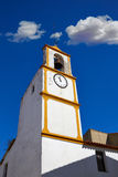 Real del Jara Via de la Plata way Clock tower Stock Photos