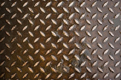 Real Diamond Plate Royalty Free Stock Photo
