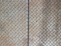 Real diamond plate steel background Royalty Free Stock Image
