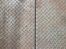 Real diamond plate steel background Stock Photo