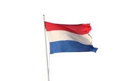 Real Dutch Flag Stock Photography