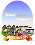 Real estate. An illustration of Real estate concept Stock Images