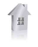 Real estate. Illustration of single-family homes Stock Photography