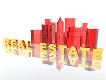 Real Estate. A 3d picture to illustrate Real Estate Stock Photo