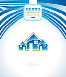 Real Estate Abstract Colorful Business Card Royalty Free Stock Images