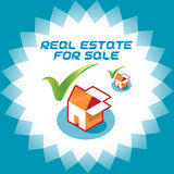 Real Estate Accept Icons, Illustration, Sign, Symb. Real Estate Accept Icons for Online Store Stock Image