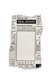 Real Estate Ad Stock Image