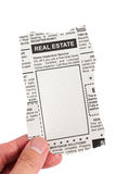 Real Estate Ad Royalty Free Stock Images