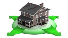 Real estate advertising Royalty Free Stock Image