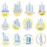 Real Estate Advertisment. Easy to edit vector illustration of real estate advertisment Royalty Free Stock Photography