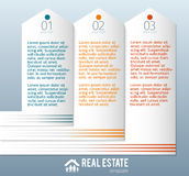 Real-Estate-Agency-ad-template Stock Photography