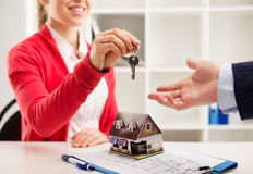 Real estate agency royalty free stock photography
