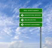 Real estate agency Royalty Free Stock Image